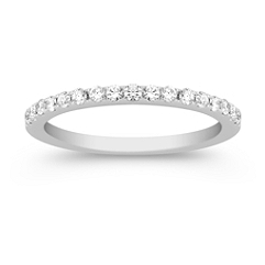 Classic Diamond Anniversary Band in Platinum