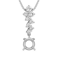 Round Diamond Pendant (18 in.)