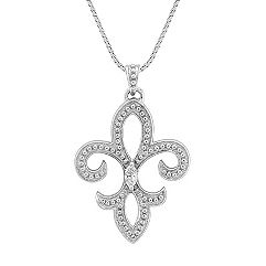 Marquise Diamond Pendant (18 in.)