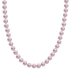 7mm Lavender Cultured Freshwater Pearl Strand (20 in.)