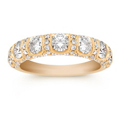 1 1/2 ct. Round Diamond Anniversary band