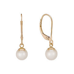 6mm Cultured Akoya Pearl Earrings