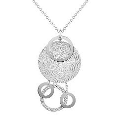 Sterling Silver Necklace (16 in.)