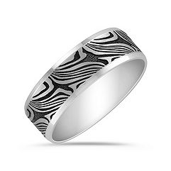 14k White Gold Comfort Fit Ring (7mm)