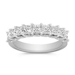 1 1/2 ct. Princess Cut Diamond Anniversary Band