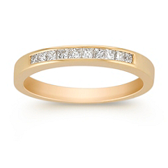 Princess Cut Diamond Anniversary Band