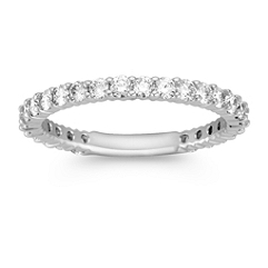 Diamond Classic Wedding Band