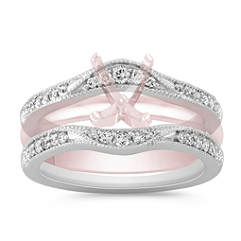 Contour Diamond Engagement Ring Enhancer