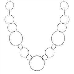 Sterling Silver Necklace (36 in.)