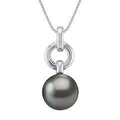 12mm Cultured Tahitian Pearl Pendant (18)