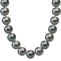 9mm Cultured Tahitian Pearl Necklace (18)