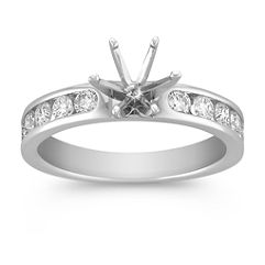 Round Diamond Engagement Ring
