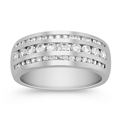 5/8 ct .t.w Round Diamond Anniversary Band