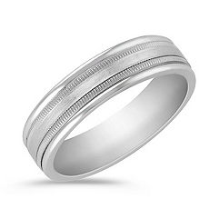 Platinum Comfort Fit Ring (6mm)