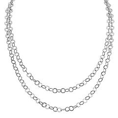 Sterling Silver Necklace (65 in.)
