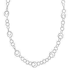 Sterling Silver Necklace (30 in.)