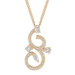 Fancy Shape and Round Diamond Pendant (18 in.)