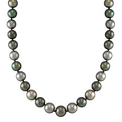 9mm Multi-Colored Cultured Tahitian Pearl Strand (18 in.)
