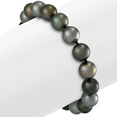 9mm Multi-Colored Cultured Tahitian Pearl Bracelet (7.5 in.)