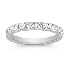 Classic Pave Set Diamond Ring