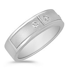 Round Diamond Ring for Him