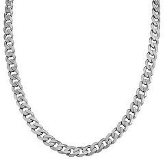 Sterling Silver Necklace (20 in.)