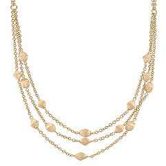 14k Yellow Gold Necklace (17 in.)