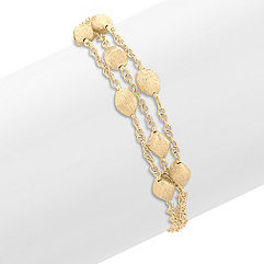 14k Yellow Gold Bracelet (7.5)