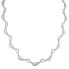 Sterling Silver Necklace (16.5 in.)