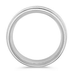 Titanium Comfort Fit Ring (8mm)