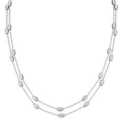 Sterling Silver Necklace (60 in.)