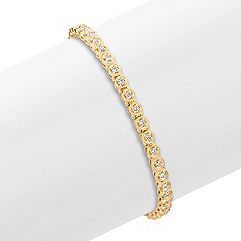 Round Diamond Bracelet (7 in.)