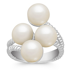 8.5mm Cultured Freshwater Pearl and Sterling Silver Ring