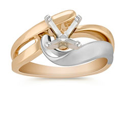 14k Two-Tone Gold Ring