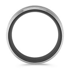 Black Titanium Ring (7mm)