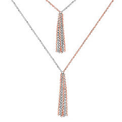 Sterling Silver Y-Shaped Necklace (32 in.)