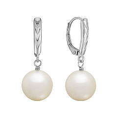 10mm Cultured South Sea Pearl Earings