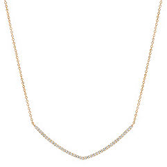 Round Diamond Necklace (18 in.)