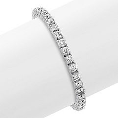 Round Diamond Tennis Bracelet (8 in.)