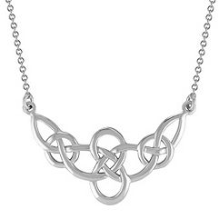 Celtic Sterling Silver Necklace (18 in.)