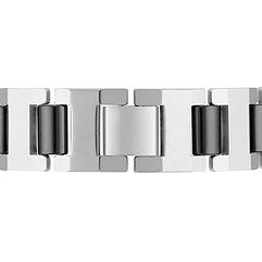 Tungsten Bracelet with Black Ionic Plating (8.5)