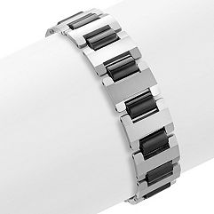 Tungsten Bracelet with Black Ionic Plating (8.5 in.)