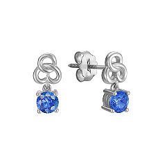 Kentucky Blue Sapphire Earrings
