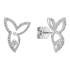 Contemporary Diamond Earrings