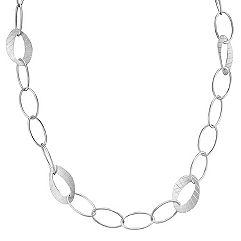 Sterling Silver Link Necklace (18)