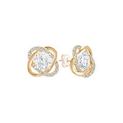 Twist Diamond Earring Jackets