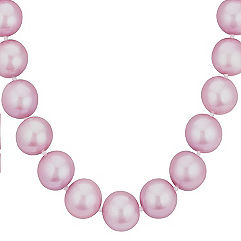 11-13.9mm Graduated Lavender Cultured Freshwater Pearl Strand (18)