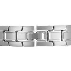 Polished Stainless Steel Bracelet (8.5)
