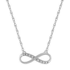 Diamond Infinity Necklace (18 in.)