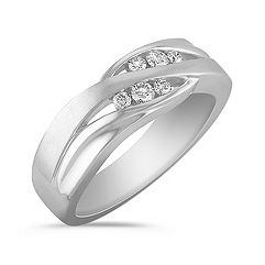 Channel Set Diamond Ring for Him